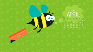 April 2020 HD Wallpaper Calendar