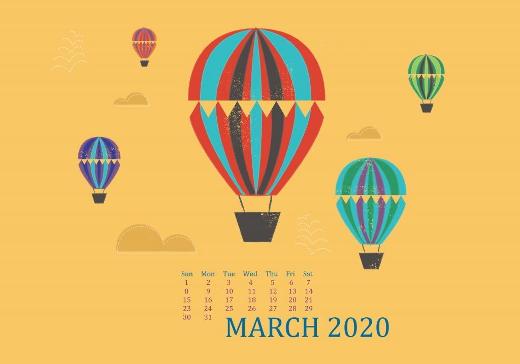 Cute March 2020 Desktop Wallpaper