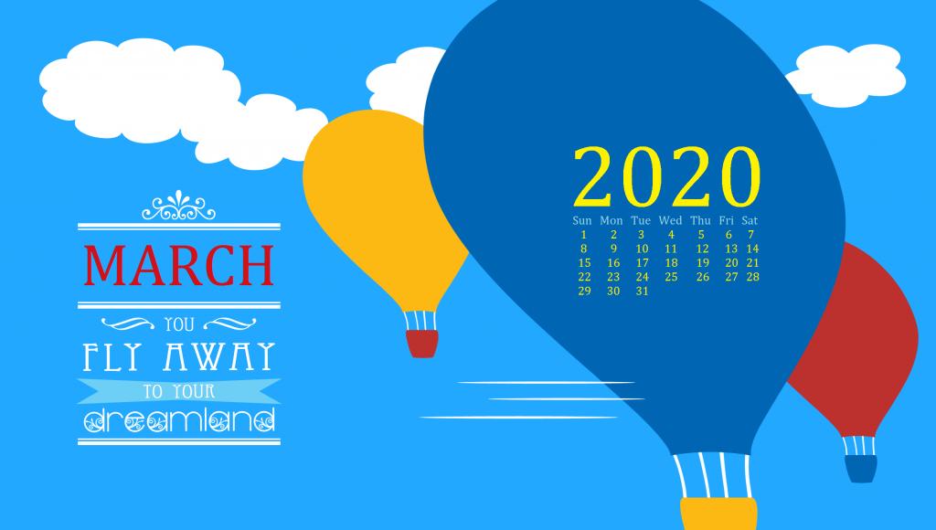 March 2020 Desktop Wallpaper