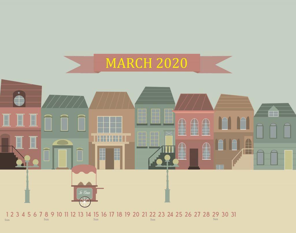 Unique March 2020 Desktop Wallpaper