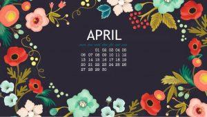 April 2020 Desktop Backgrounds