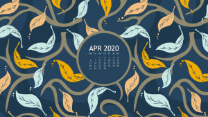 April 2020 Desktop Screen Saver