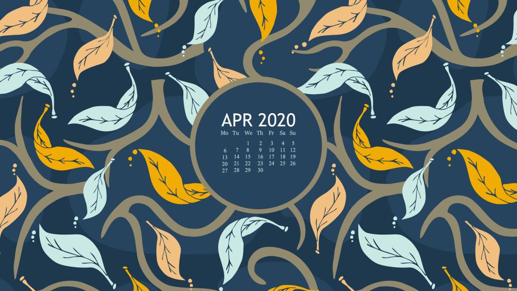 April 2020 Desktop Screen Saver
