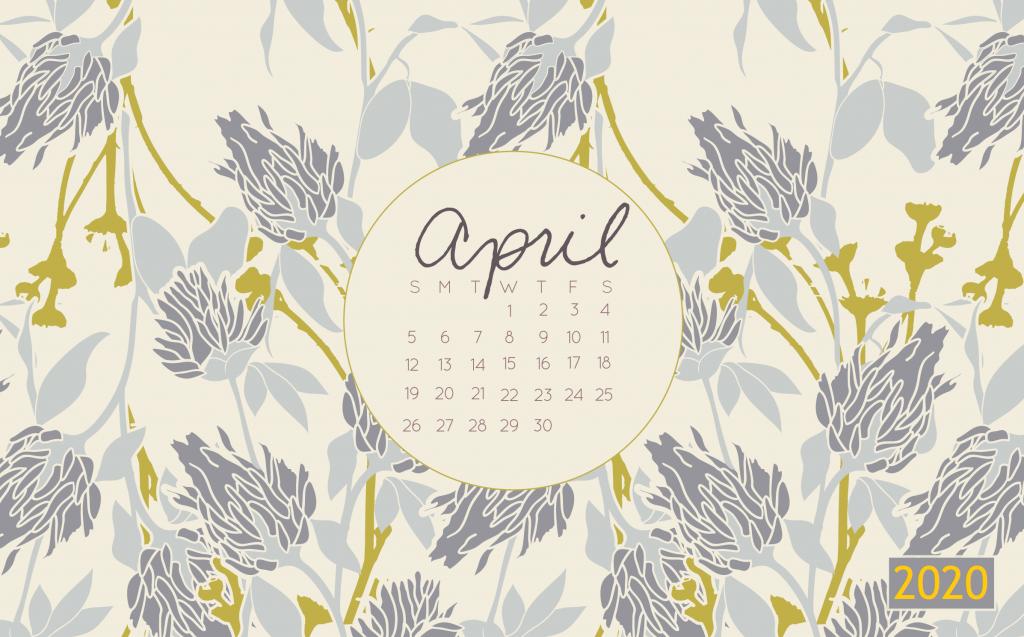 April 2020 Desktop Wallpaper