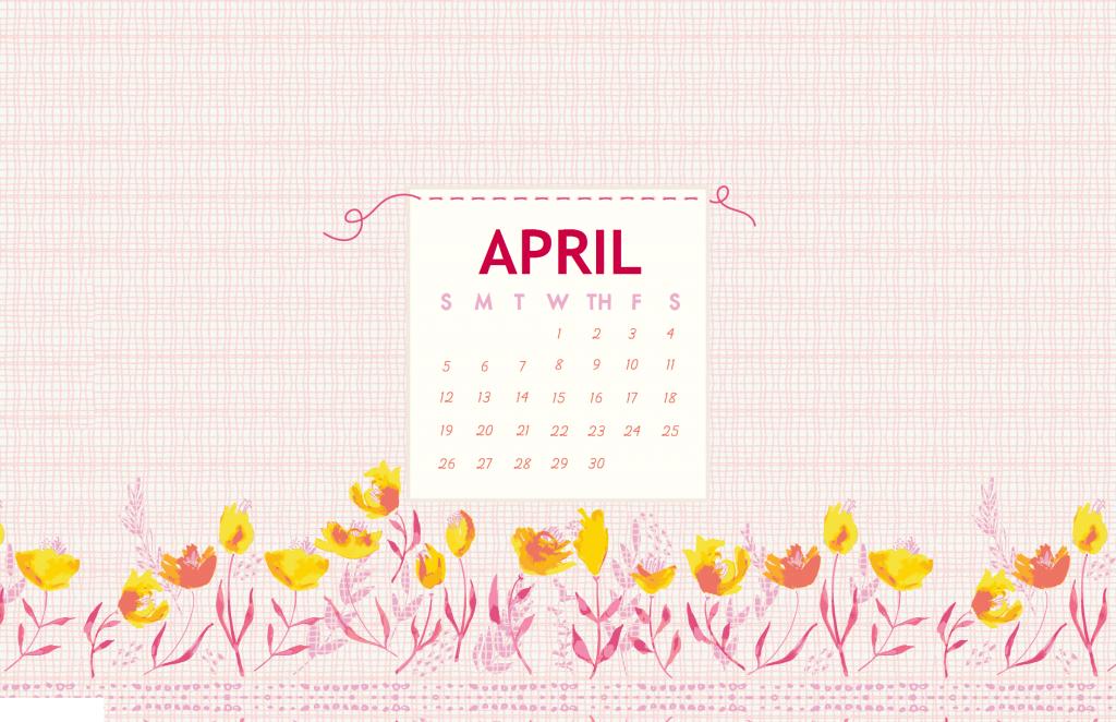 Artboard April 2020 Desktop Wallpaper