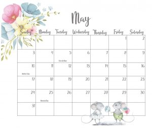 Best May 2020 Floral Calendar
