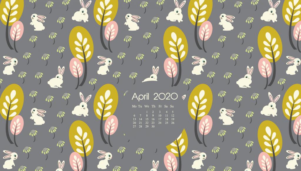 Cute April 2020 Desktop Wallpaper