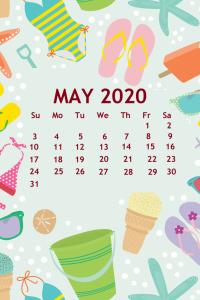 Cute iPhone May 2020 Wallpaper