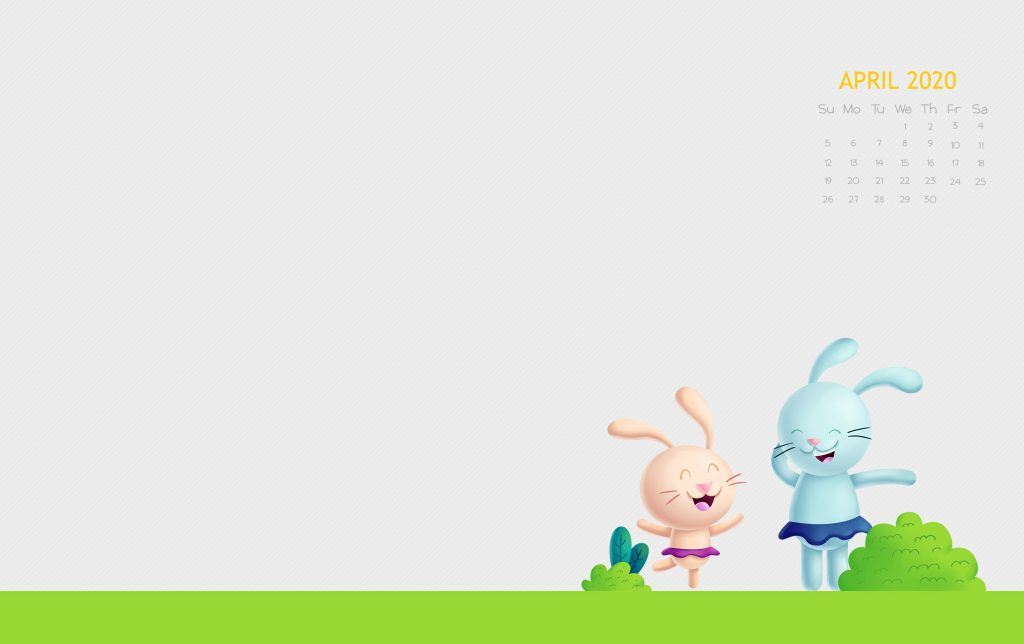 Free April 2020 Desktop Wallpaper