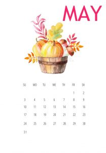 Free May 2020 iPhone Wallpaper