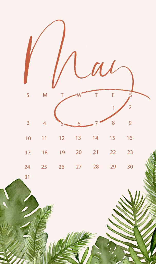 May 2020 Smartphone Wallpaper