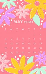 May 2020 iPhone Background
