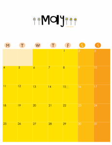 Unique May 2020 Best Calendar
