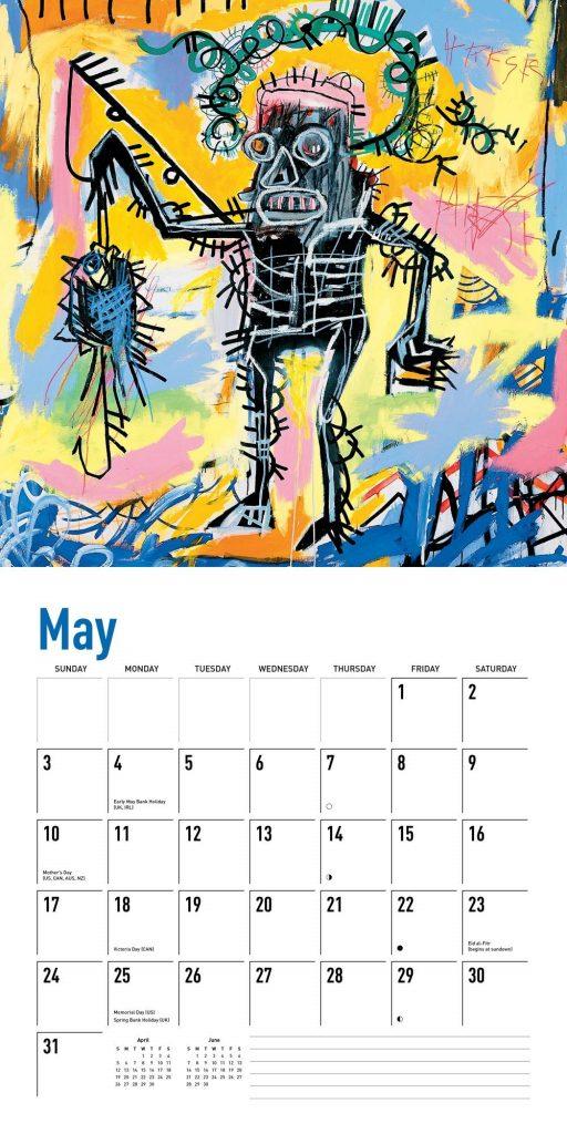Wall Art May 2020 Photo Calendar