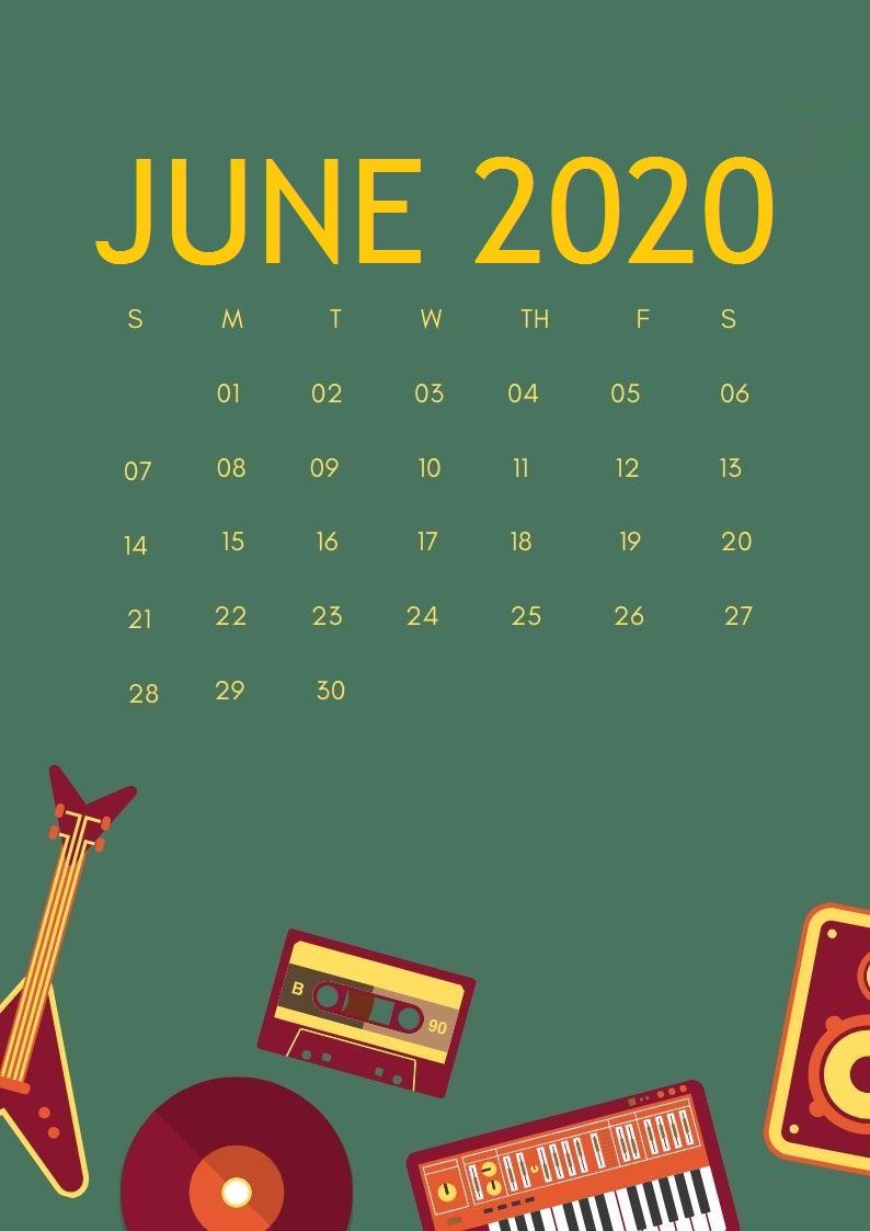 June 2020 Smartphone Wallpaper