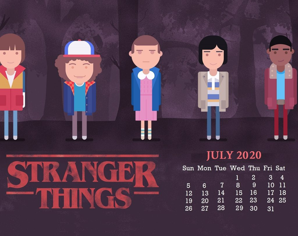 Cute July 2020 Desktop Wallpaper
