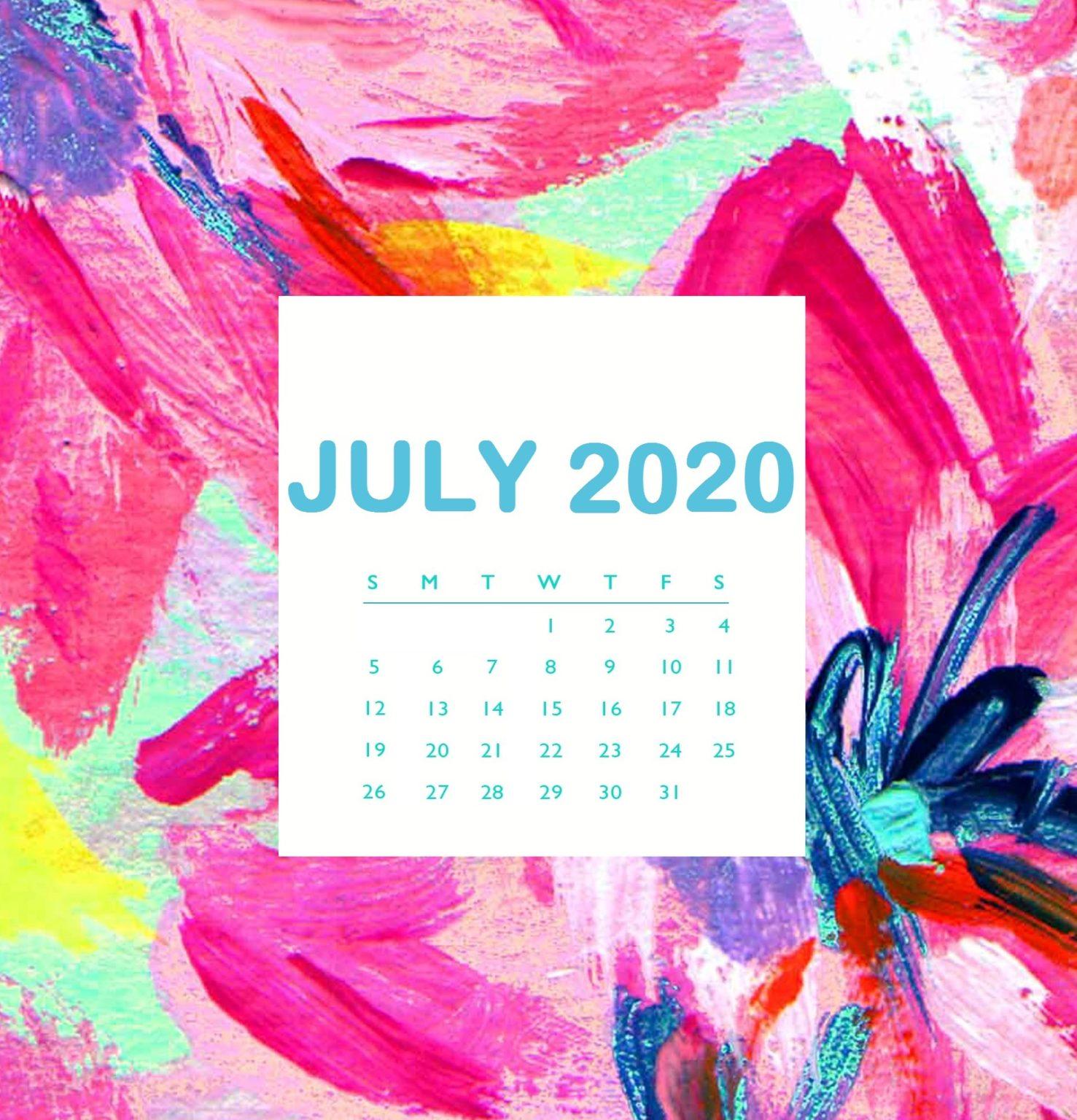 Beautiful July 2020 iPhone Wallpaper
