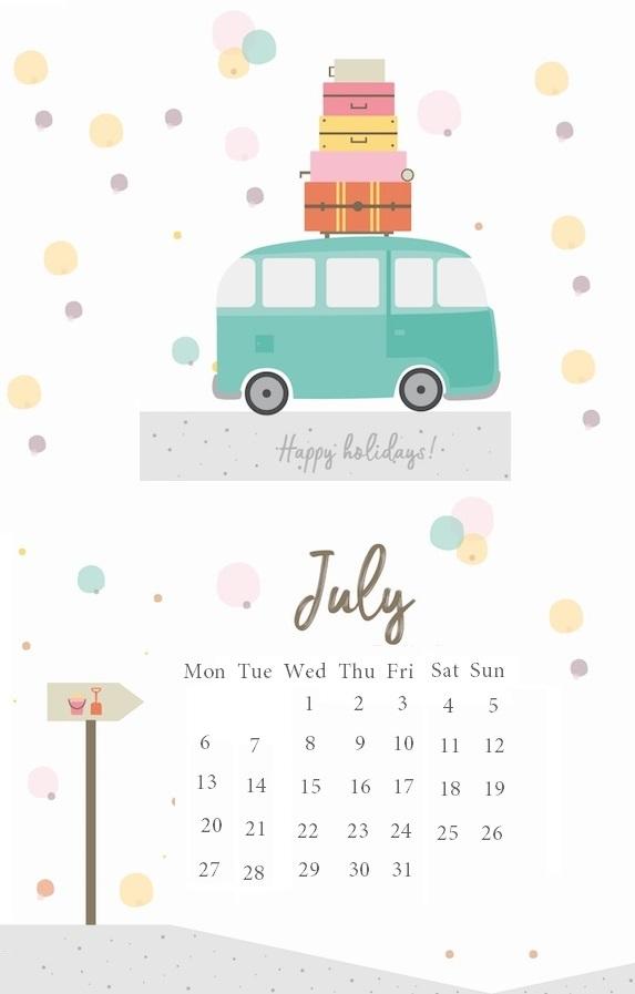 Cute iPhone July 2020 Wallpaper