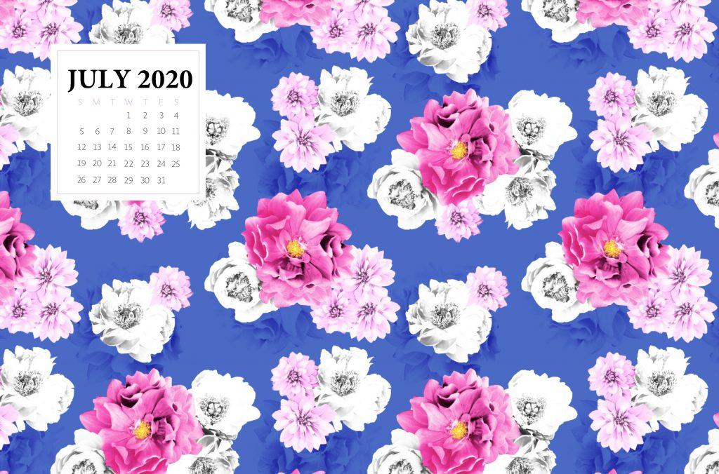 Floral July 2020 Desktop Wallpaper