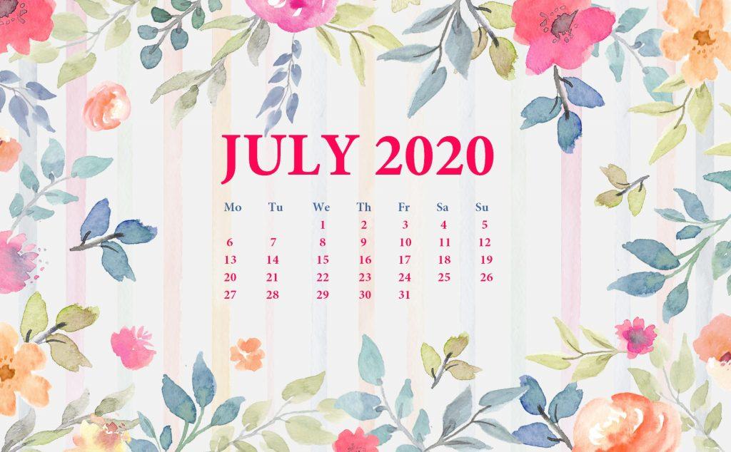 July 2020 Desktop Backgrounds