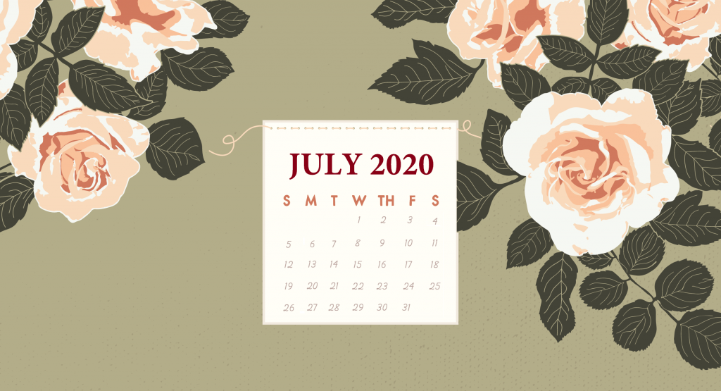 July 2020 Desktop Screensaver