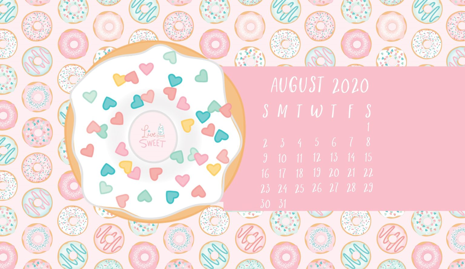 Free August 2020 Desktop Wallpaper