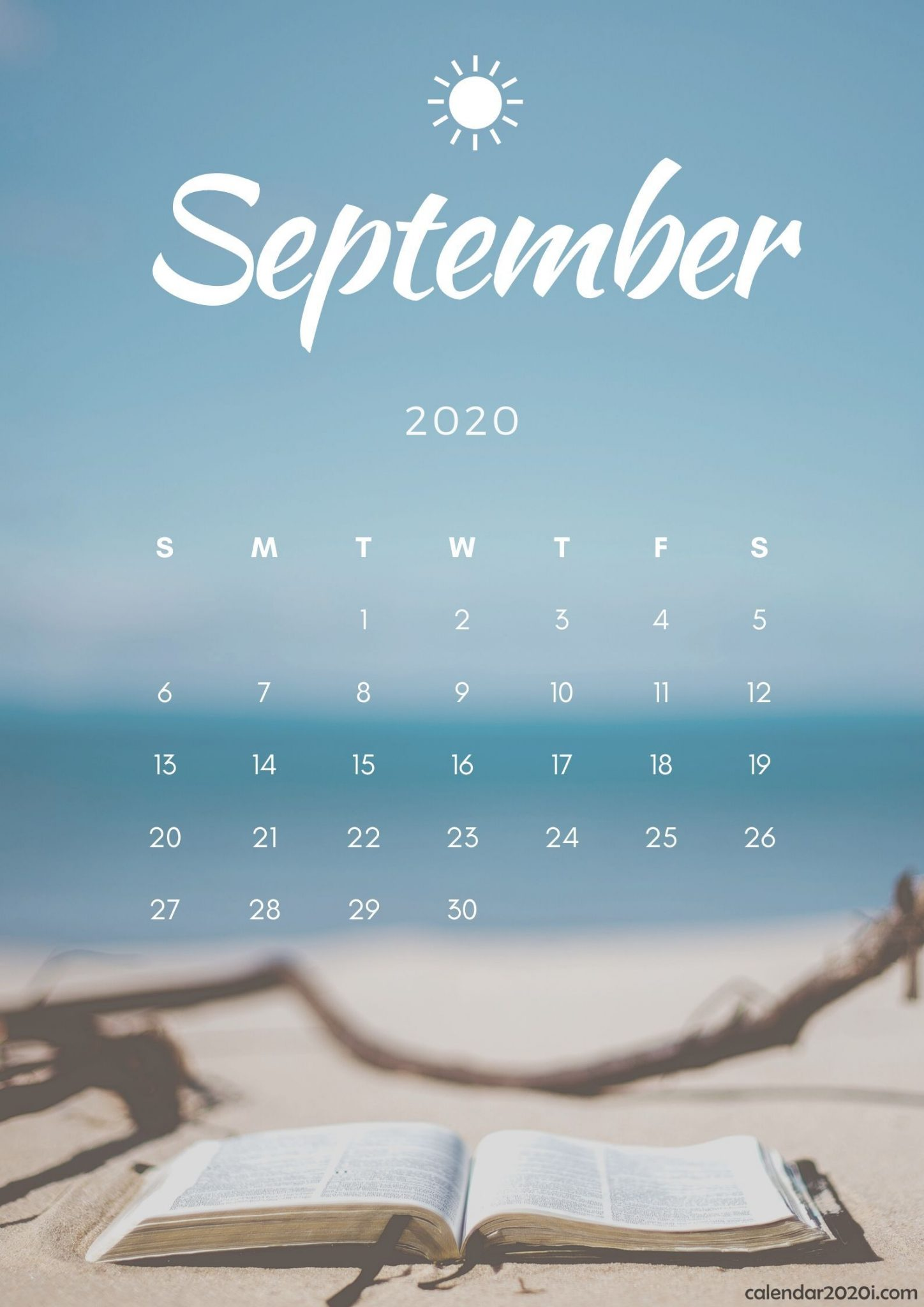 September 2020 iPhone Wallpaper