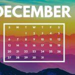 December 2020 Calendar Wallpaper