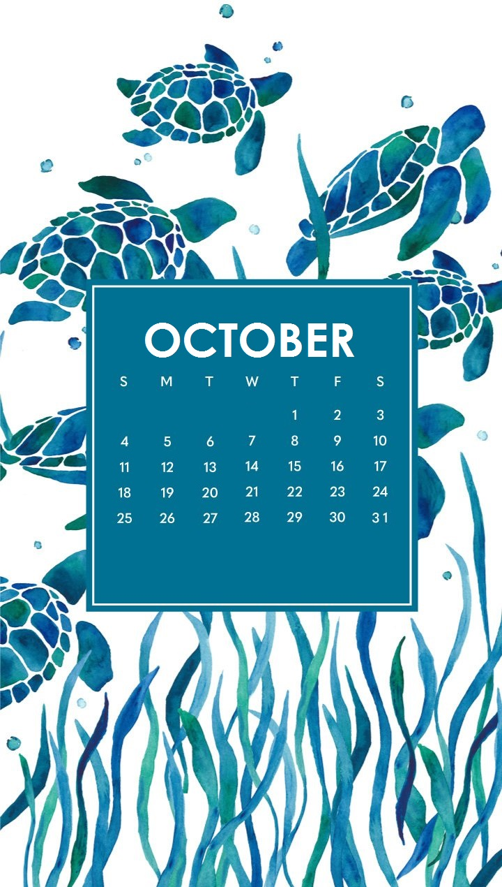 Free October 2020 iPhone Wallpaper