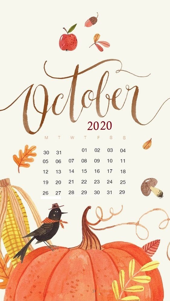 October 2020 Smartphone Wallpaper