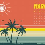 March 2021 Calendar HD Wallpaper