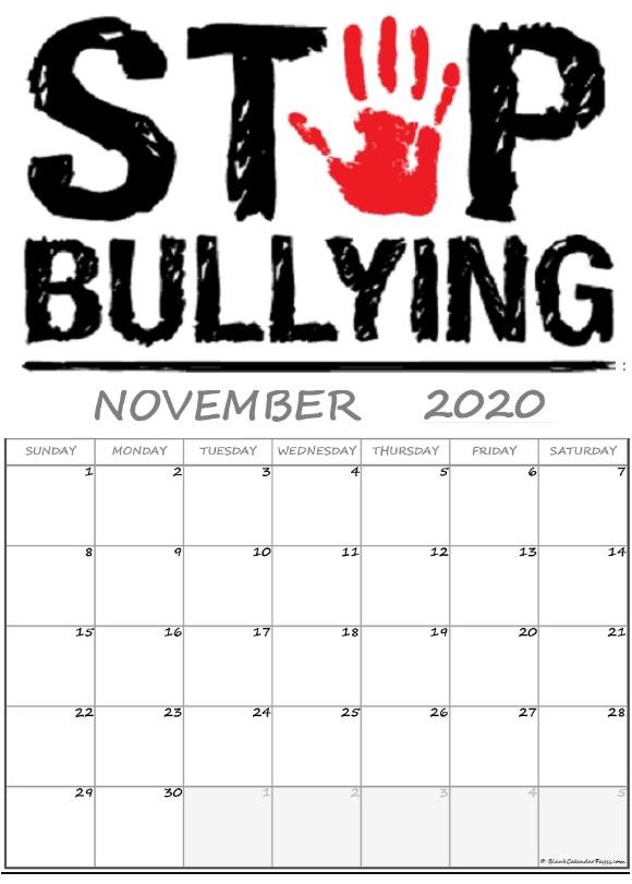 November 2020 Best Quotes Calendar