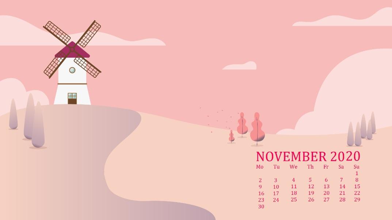 November 2020 Desktop Wallpaper Download