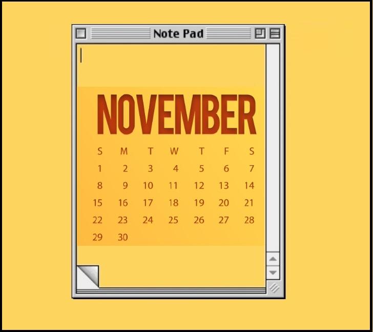 November 2020 Desktop Wallpaper For Students