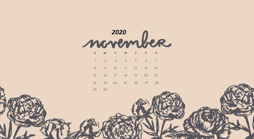 November 2020 Desktop Wallpaper Free