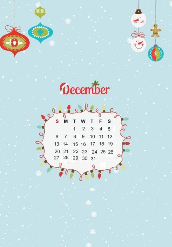 Sweet iPhone December 2020 Wallpaper