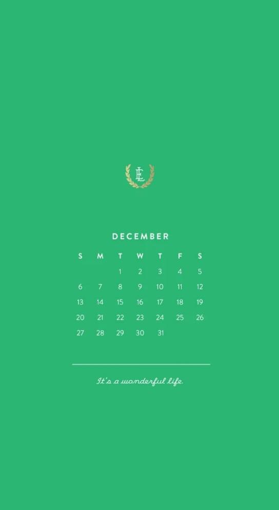 iPhone December 2020 HD Wallpaper